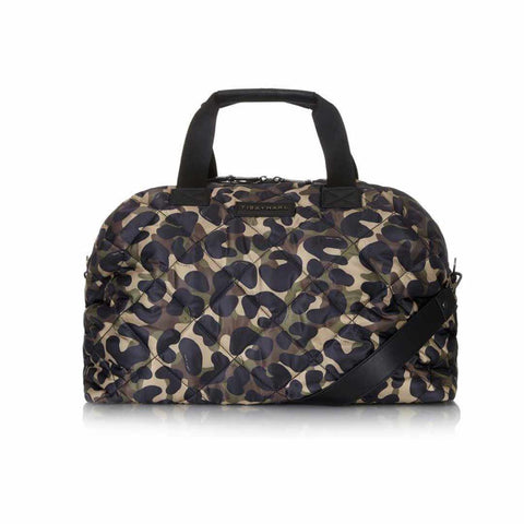 Tiba + Marl Raf Weekender - Camo-Changing Bags- Natural Baby Shower