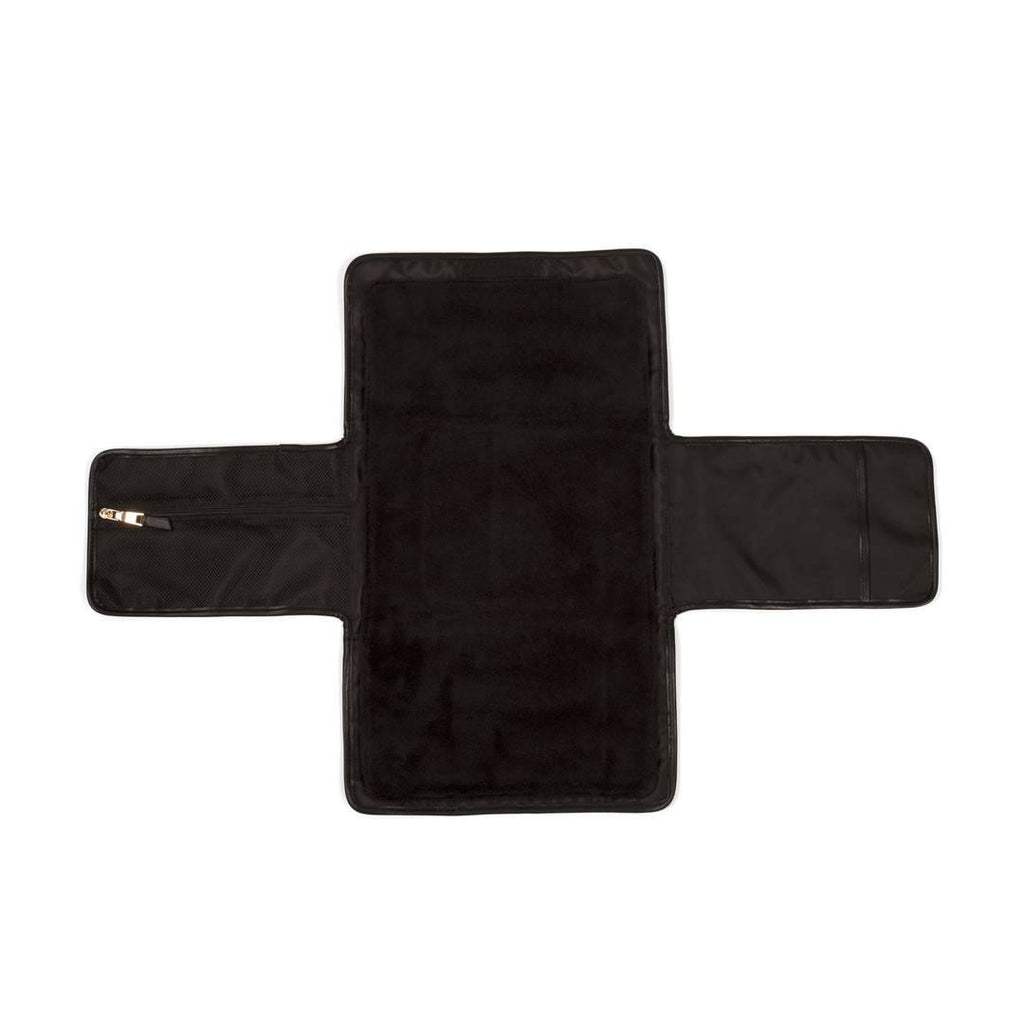 Tiba + Marl Etta Changing Clutch - Black-Changing Mats & Covers- Natural Baby Shower
