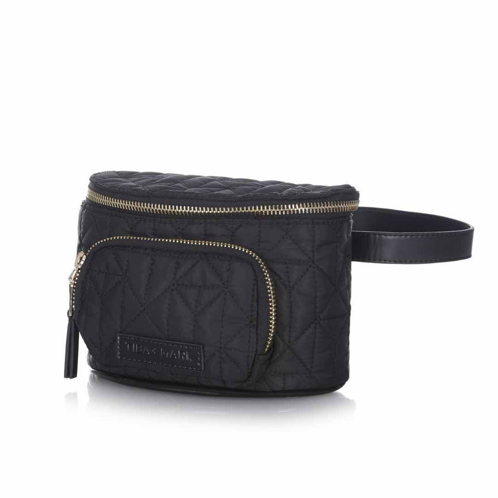 Tiba + Marl Delphine Bum Bag - Black Side
