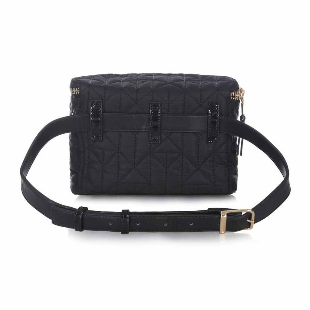 Tiba + Marl Delphine Bum Bag - Black Back
