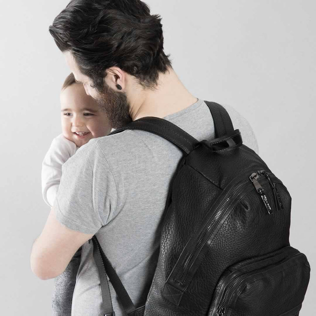 Tiba + Marl Elwood Backpack in Black Lifestyle