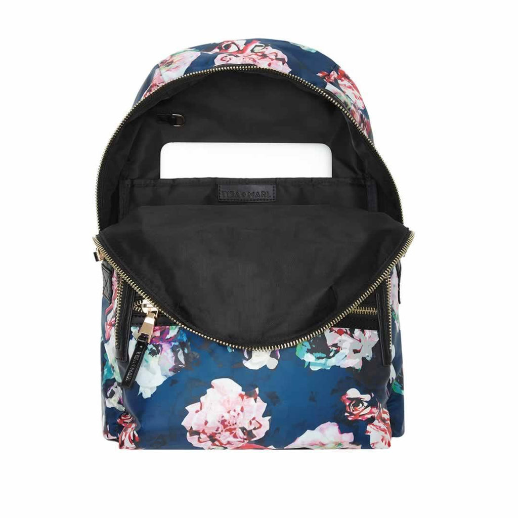 Tiba + Marl Elwood Backpack - Floral Open