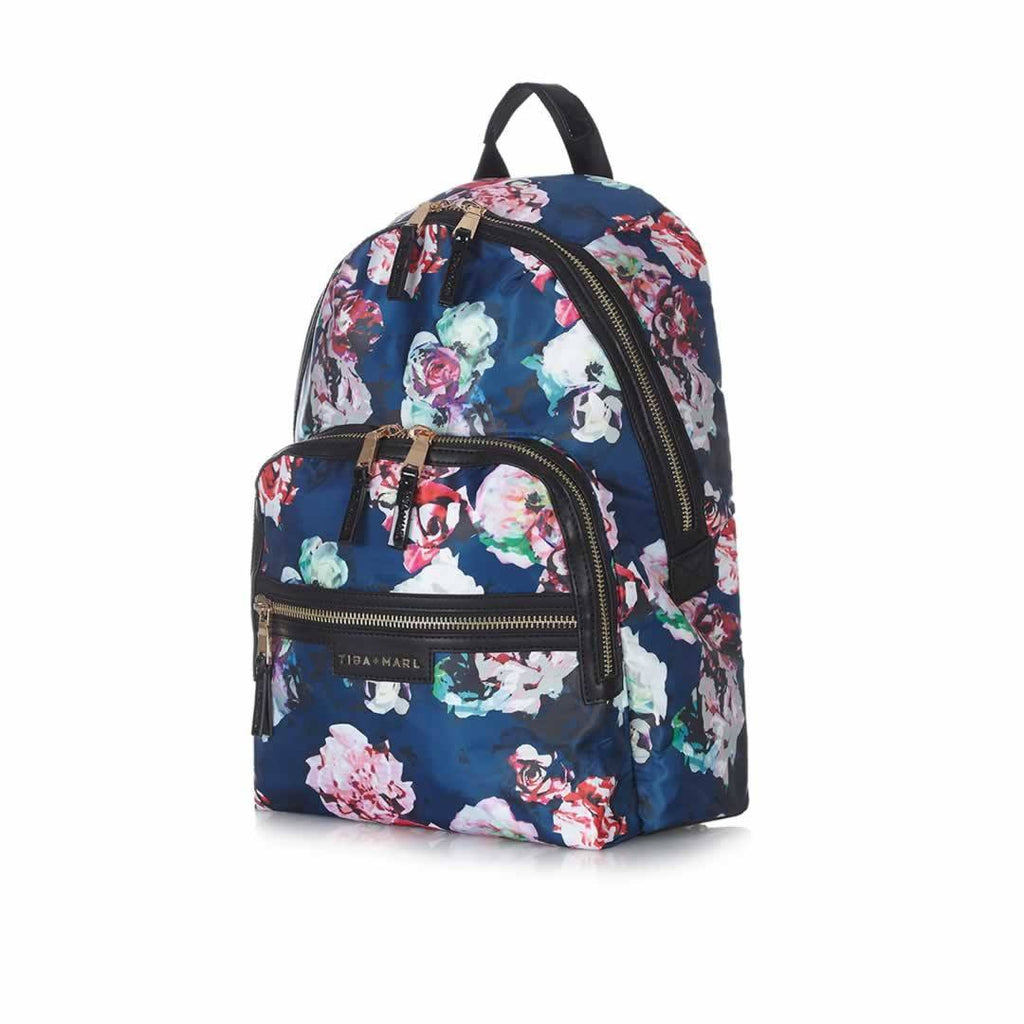 Tiba + Marl Elwood Backpack - Floral Side