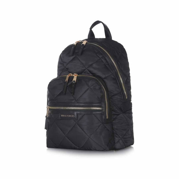 Tiba + Marl Elwood Backpack - Quilted-Changing Bags- Natural Baby Shower