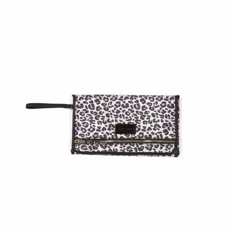 Tiba + Marl Etta Changing Clutch Bag in Leopard