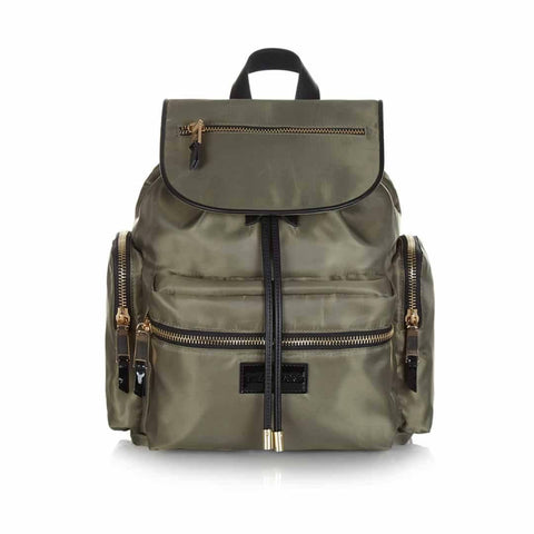 Tiba + Marl Kaspar Knapsack - Khaki - Changing Bags - Natural Baby Shower