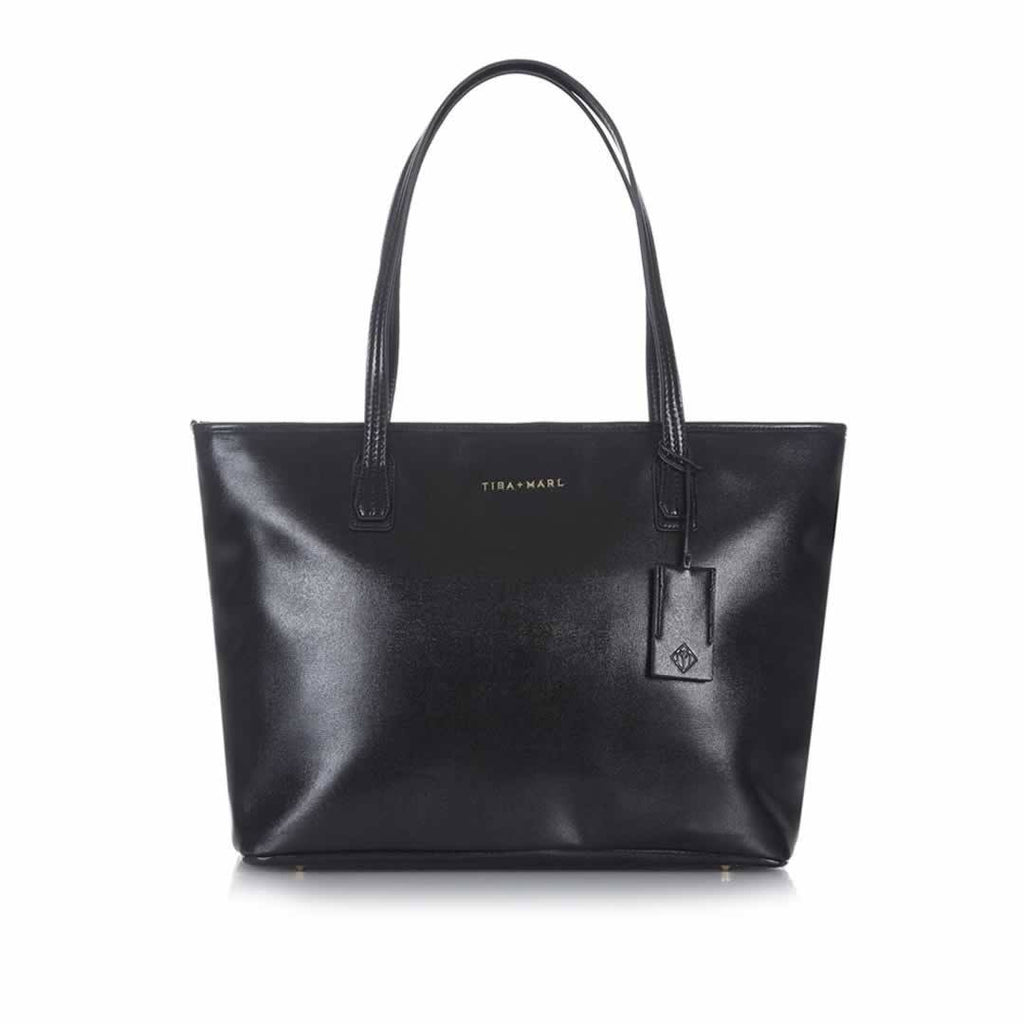Tiba + Marl Mabel Tote in Black