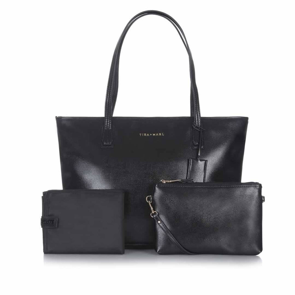 Tiba + Marl Mabel Tote Bag Black