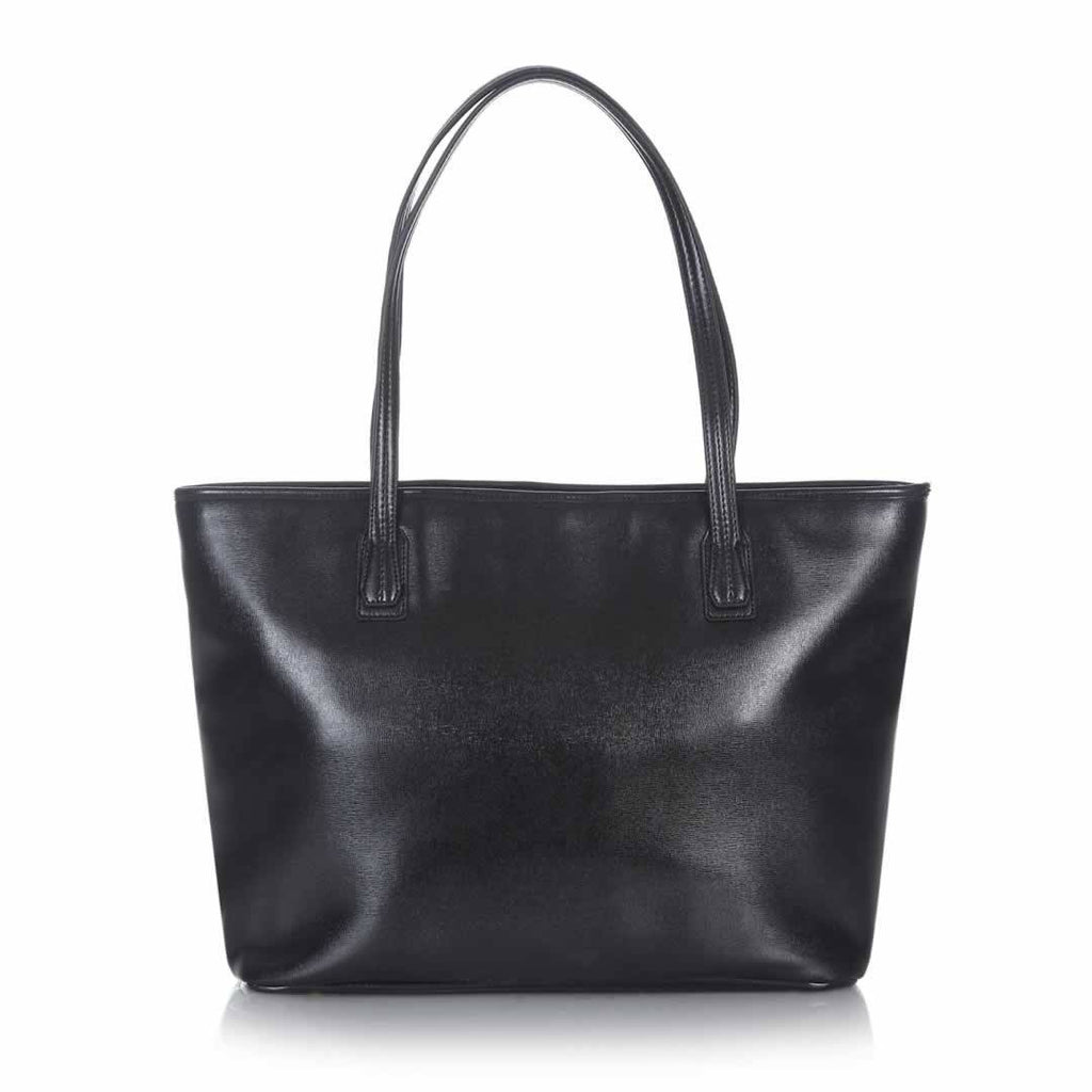 Tiba + Marl Mabel Tote Bag - Black Back