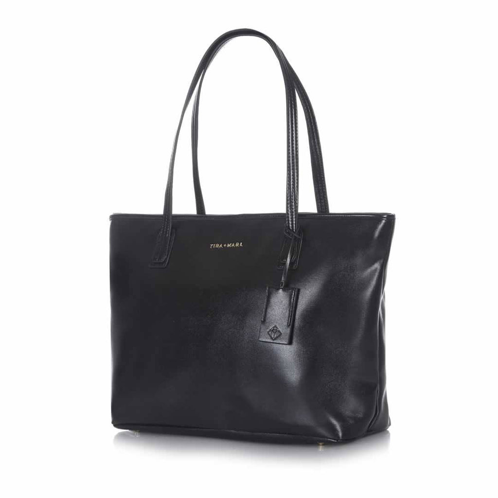 Tiba + Marl Mabel Tote Bag Black Side