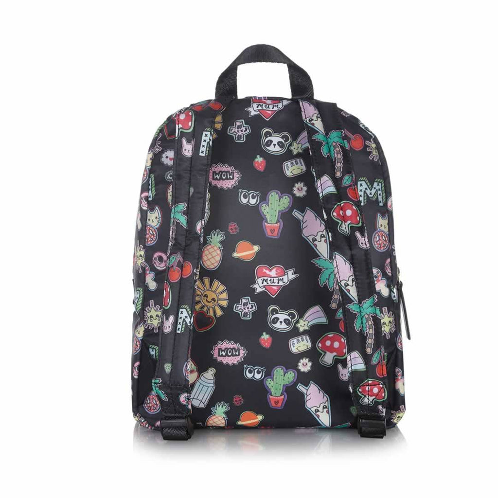 Tiba + Marl Mini Elwood Kids Backpack - Sticker Print Back