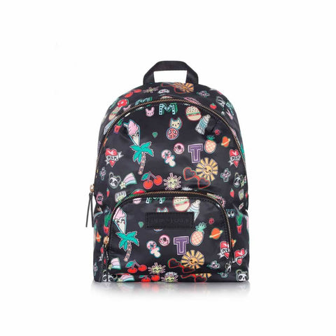 Tiba + Marl Mini Elwood Kids Backpack - Sticker Print - Children's Bags - Natural Baby Shower