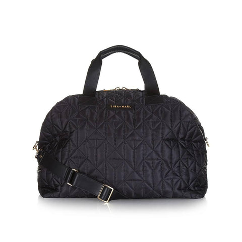 Tiba + Marl Raf Holdall in Black