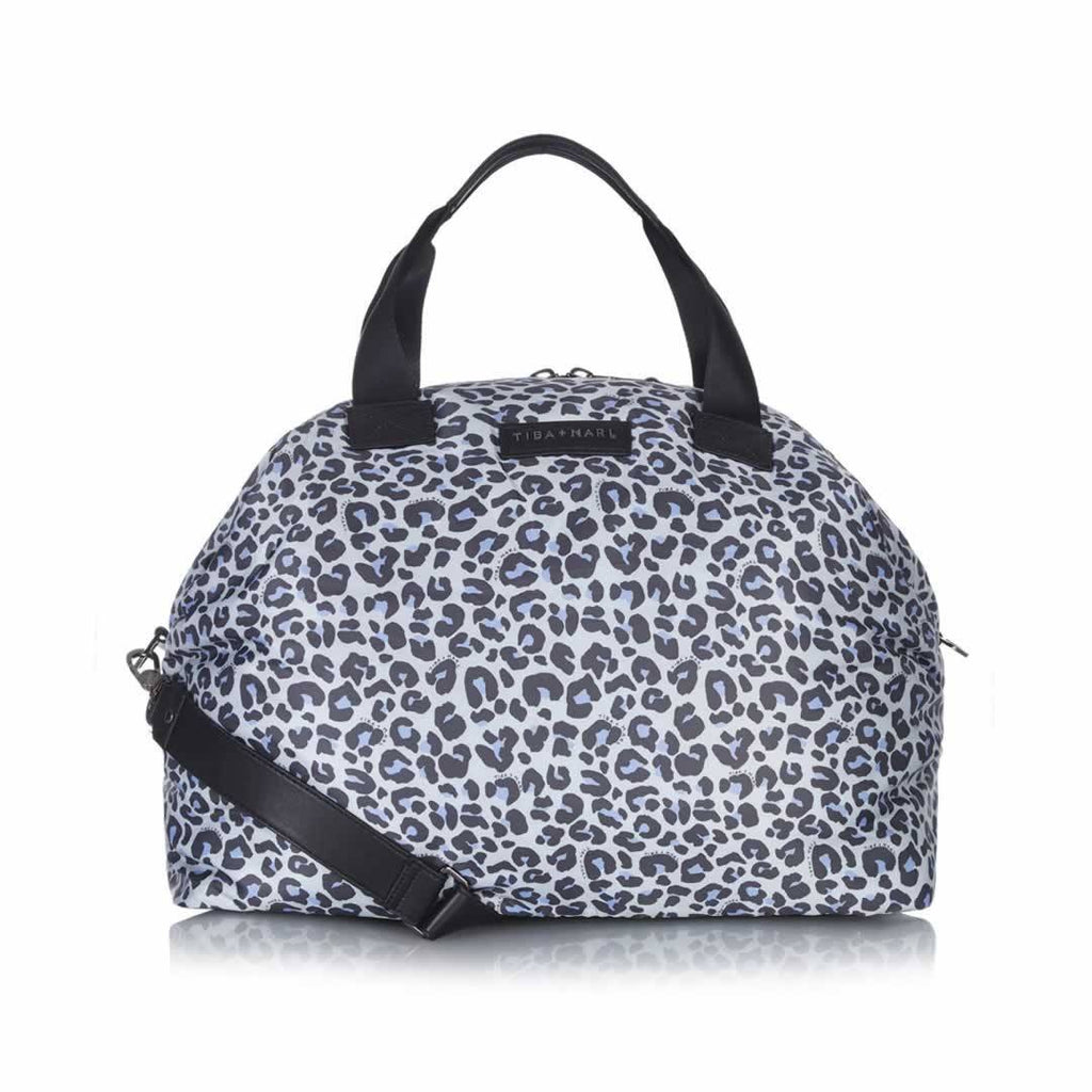 Tiba + Marl Raf Weekender - Leopard - Changing Bags - Natural Baby Shower