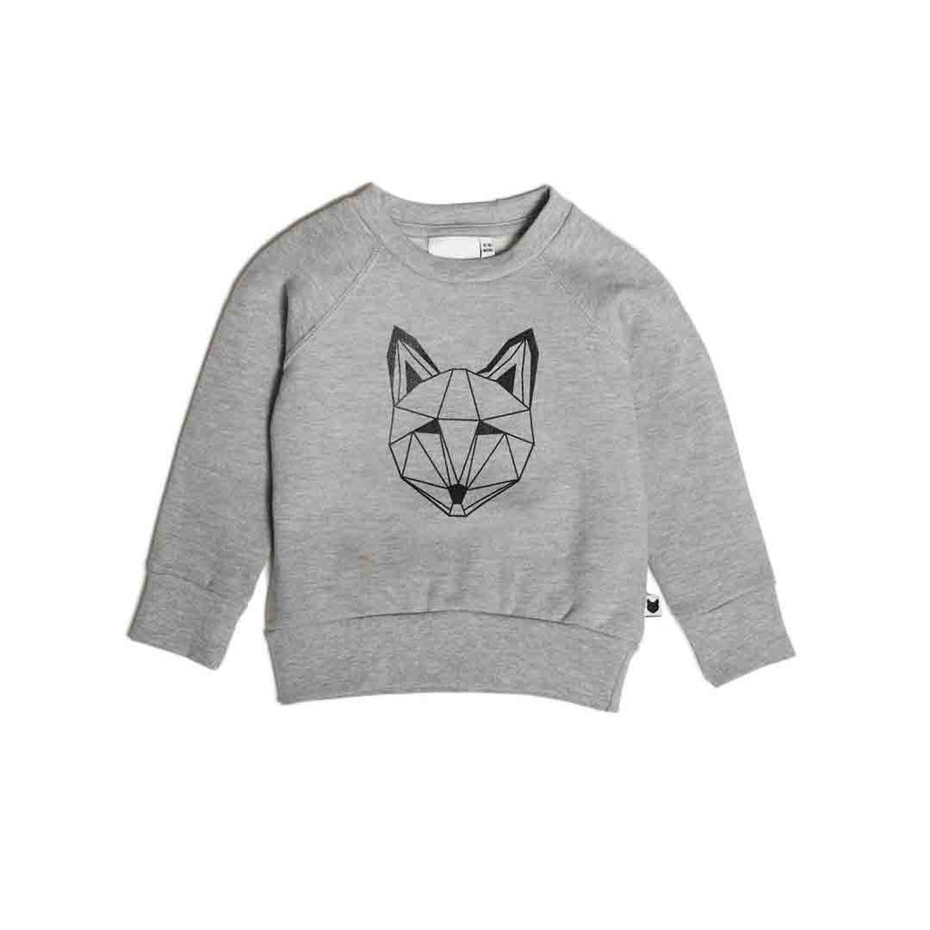 Tobias & The Bear Just Call Me Fox Sweatshirt-Long Sleeves- Natural Baby Shower