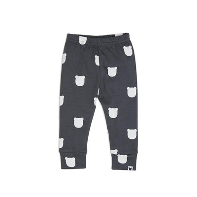 Tobias & the Bear Leggings - Charcoal-Leggings- Natural Baby Shower