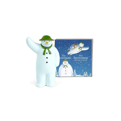 Tonies - The Snowman & Snowman Dog-Play Set Characters- Natural Baby Shower