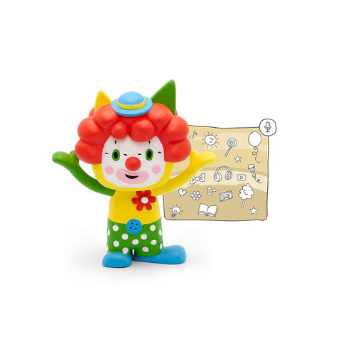 Tonies Creative Tonie - Clown-Play Sets- Natural Baby Shower