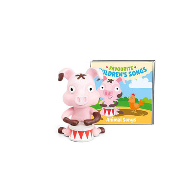 Tonies Favourite Children's Songs - Animal Songs-Play Set Characters- Natural Baby Shower