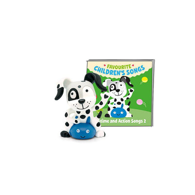 Tonies Favourite Children's Songs - Playtime & Action 2-Play Set Characters- Natural Baby Shower