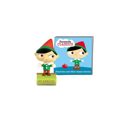 Tonies Favourite Classics - Pinocchio-Play Set Characters- Natural Baby Shower