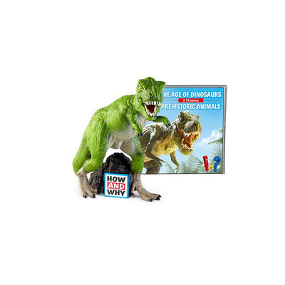 Tonies How & Why - Dinosaurs-Play Set Characters- Natural Baby Shower