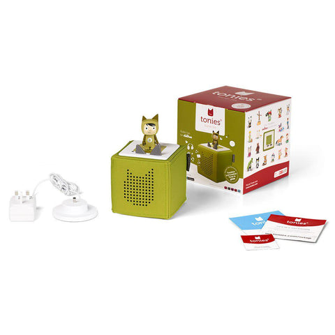 Tonies Toniebox Starter Set - Green-Play Sets- Natural Baby Shower
