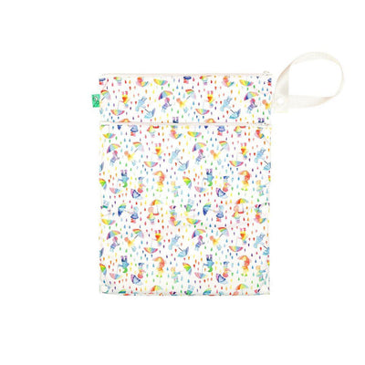 TotsBots Wet + Dry Bag - Dilly Dally-Nappy Laundry & Storage- Natural Baby Shower
