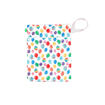 TotsBots Wet + Dry Bag - Pop-Nappy Laundry & Storage- Natural Baby Shower