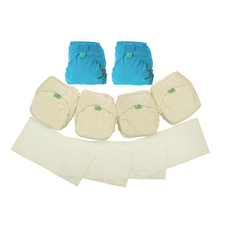 TotsBots Bamboozle Night Time Kit-Nappy Packs- Natural Baby Shower