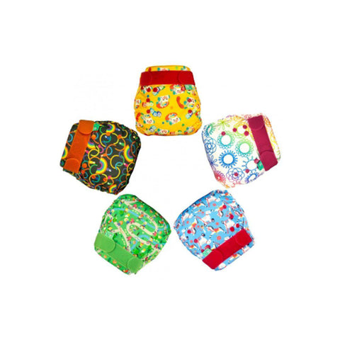 TotsBots Easyfit STAR - 5 pack - Playtime-Nappy Packs- Natural Baby Shower