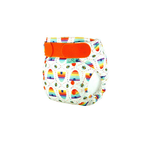 TotsBots Easyfit Star Nappy - Bee Kind-Nappies-Bee Kind- Natural Baby Shower