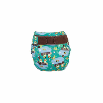 TotsBots Easyfit Star Nappy - Five Little Speckled Frogs-Nappies-Five Little Speckled Frogs- Natural Baby Shower