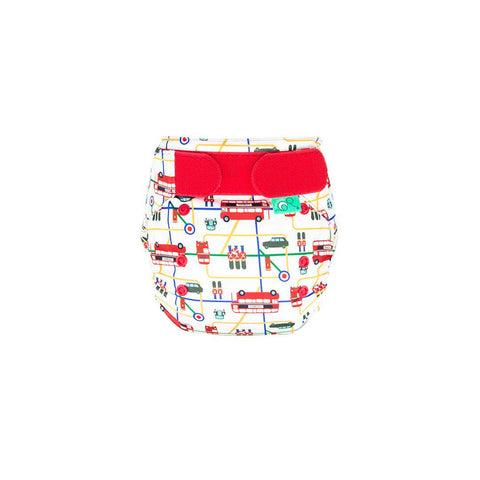 TotsBots PeeNut Wrap - London-Nappy Wraps- Natural Baby Shower