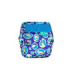 TotsBots Easyfit Star Nappy - Royal All Bum