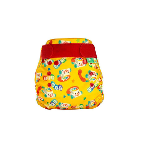 TotsBots PeeNut Nappy - Chatterbots-Nappies-Chatterbots-Size 2- Natural Baby Shower