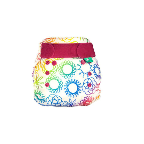 TotsBots PeeNut Wrap - Doodlebum-Nappy Wraps- Natural Baby Shower