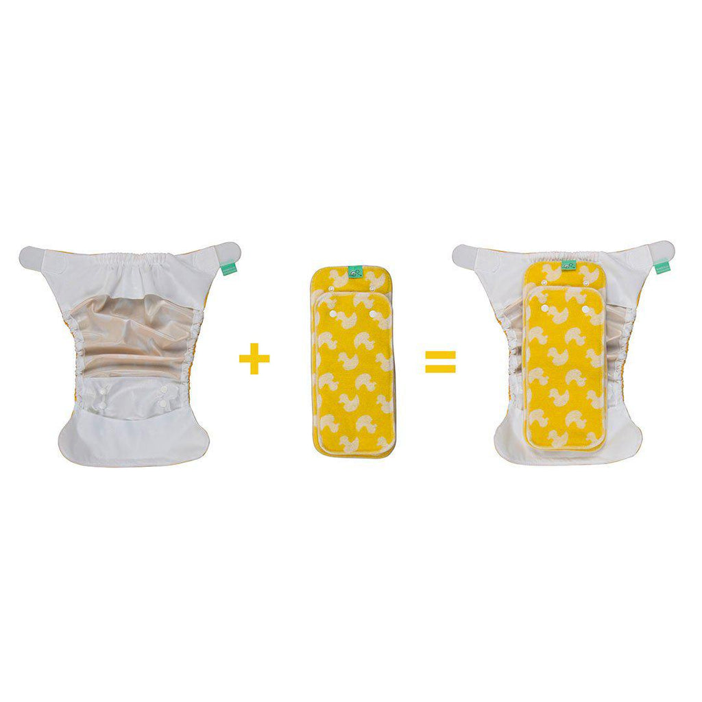 TotsBots PeeNut Pad - Waddle-Nappy Pads & Liners- Natural Baby Shower