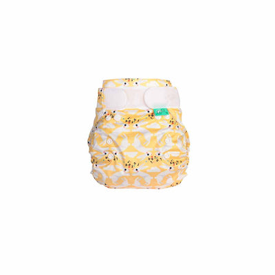 TotsBots PeeNut Wrap - Hop Little Bunny-Nappy Wraps- Natural Baby Shower