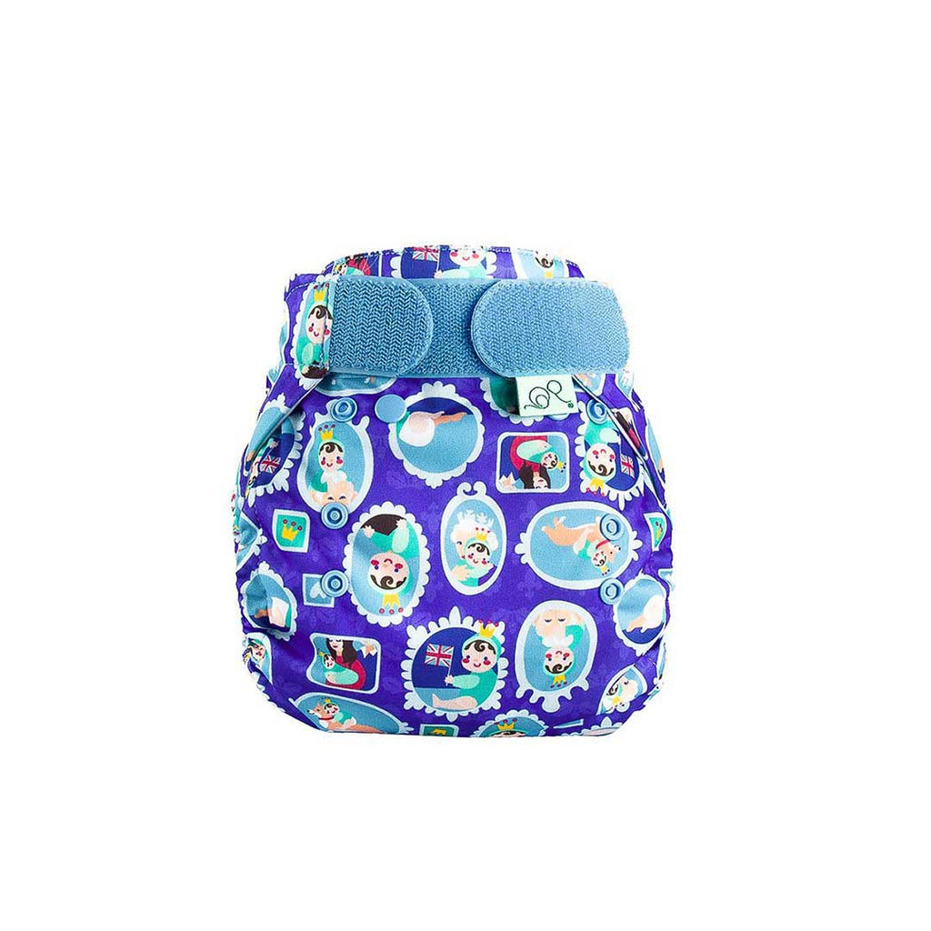 Totsbots Peenut Wrap In Royal All Bum Natural Baby Shower
