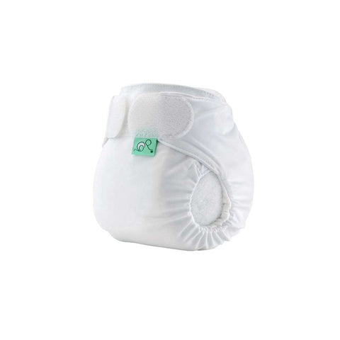 TotsBots Teenyfit Star Nappy - White-Nappies-White- Natural Baby Shower