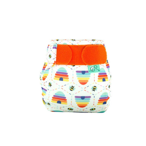 TotsBots Teenyfit Star Nappy - Bee Kind-Nappies-Bee Kind- Natural Baby Shower