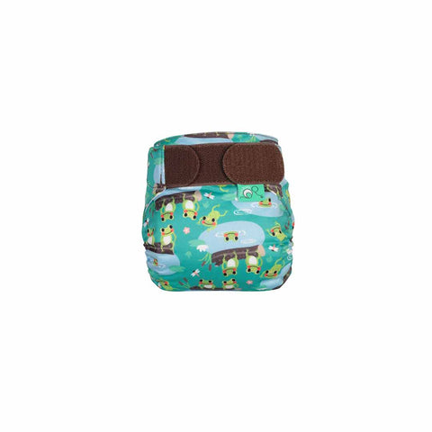 TotsBots Teenyfit Star Nappy - Five Little Speckled Frogs-Nappies-Five Little Speckled Frogs- Natural Baby Shower