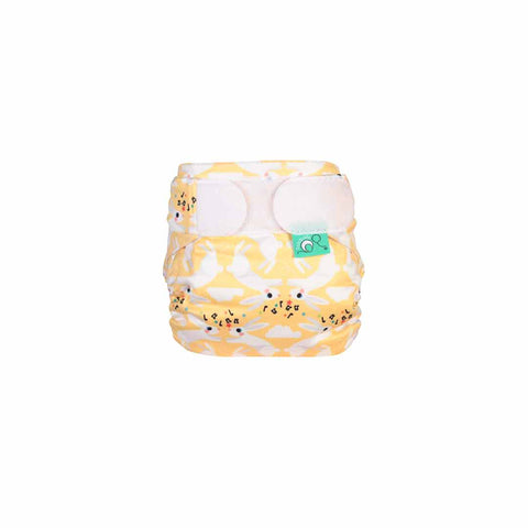 TotsBots Teenyfit Star Nappy - Hop Little Bunny-Nappies-Hop Little Bunny- Natural Baby Shower