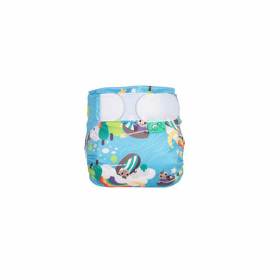 TotsBots Teenyfit Star Nappy - Row Your Boat-Nappies-Row Your Boat- Natural Baby Shower