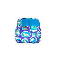 TotsBots Teenyfit Star Nappy - Royal All Bum