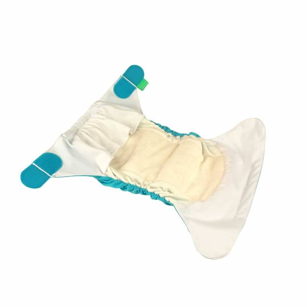 TotsBots Easyfit Star - 5 pack - White - Nappy Packs - Natural Baby Shower