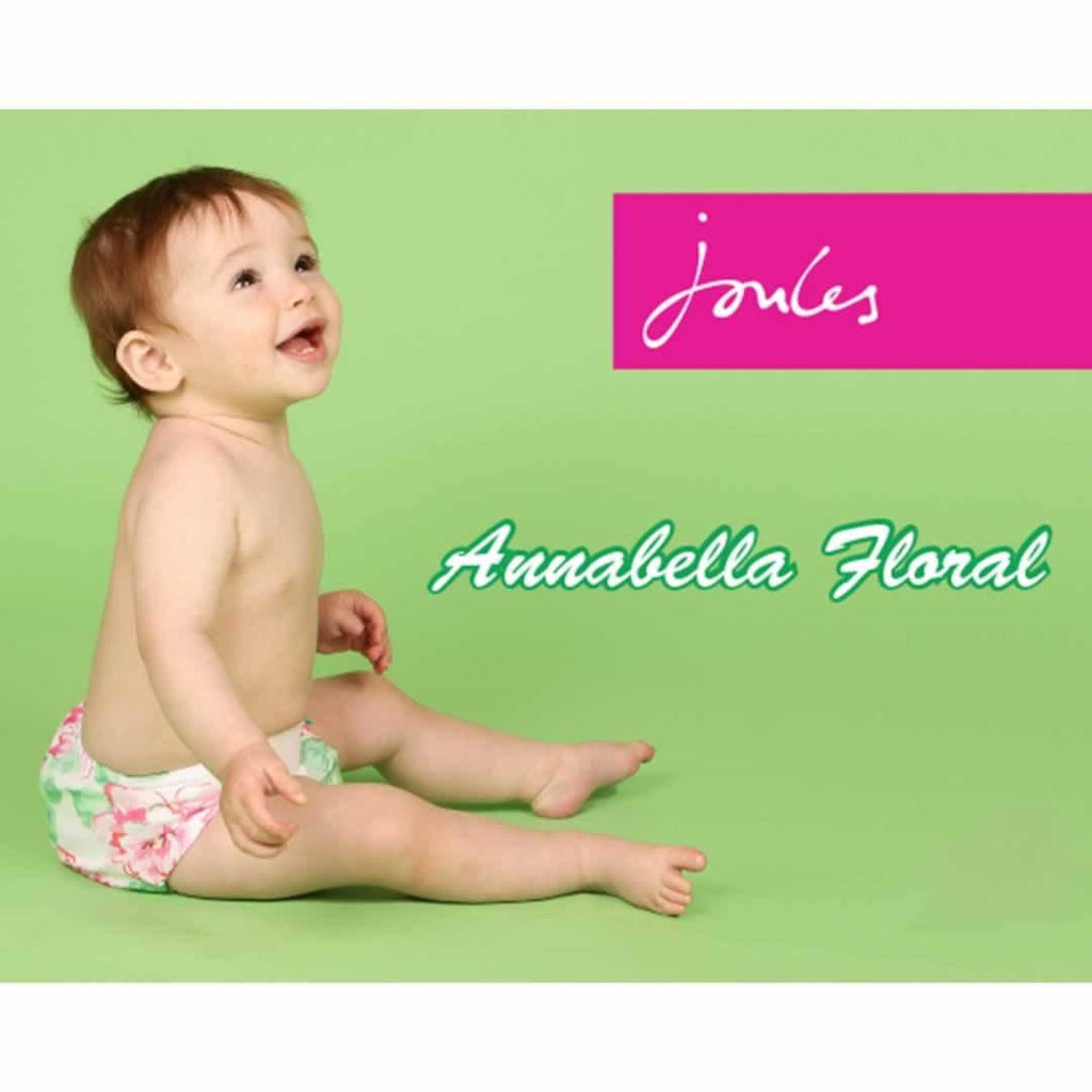 TotsBots Easyfit Star Nappy Annabella Floral by Joules Lifestyle