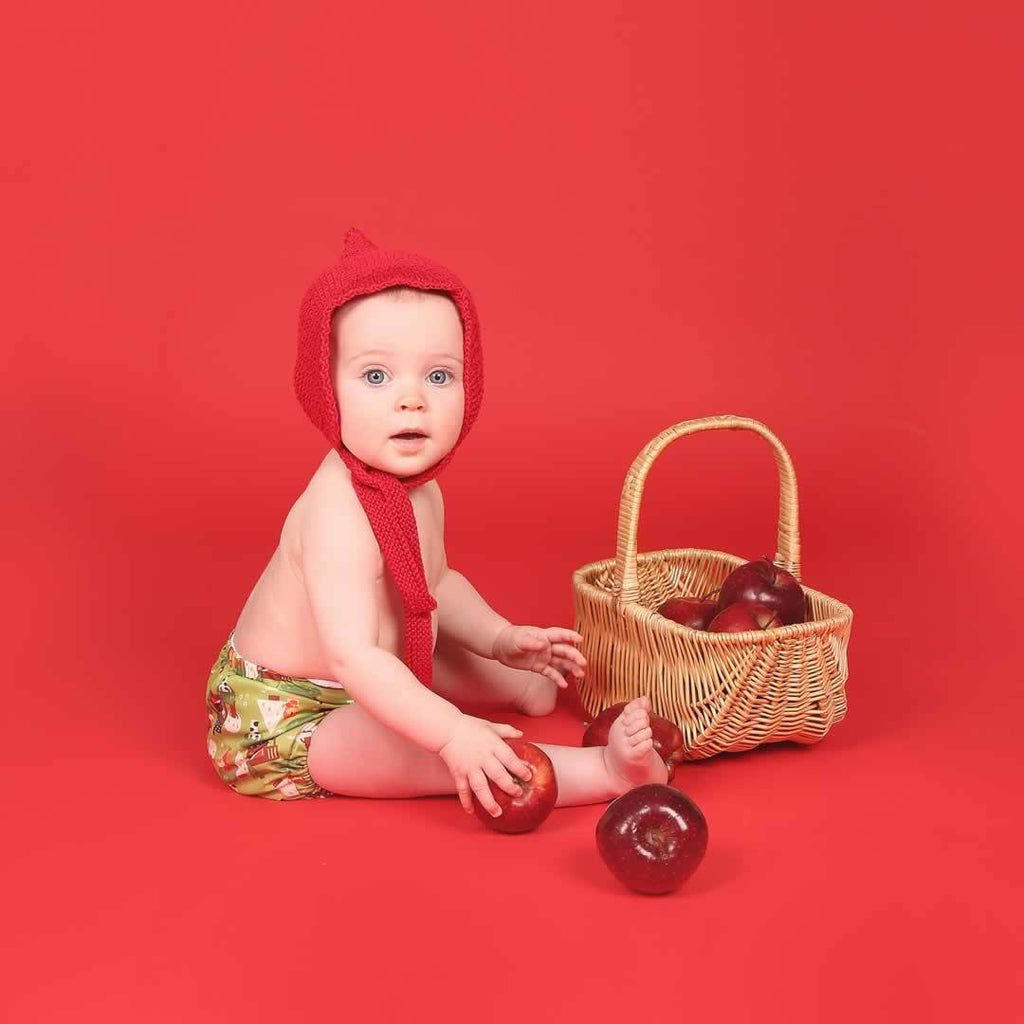 TotsBots Easyfit Star Nappy - Little Red Riding Hood Lifestyle