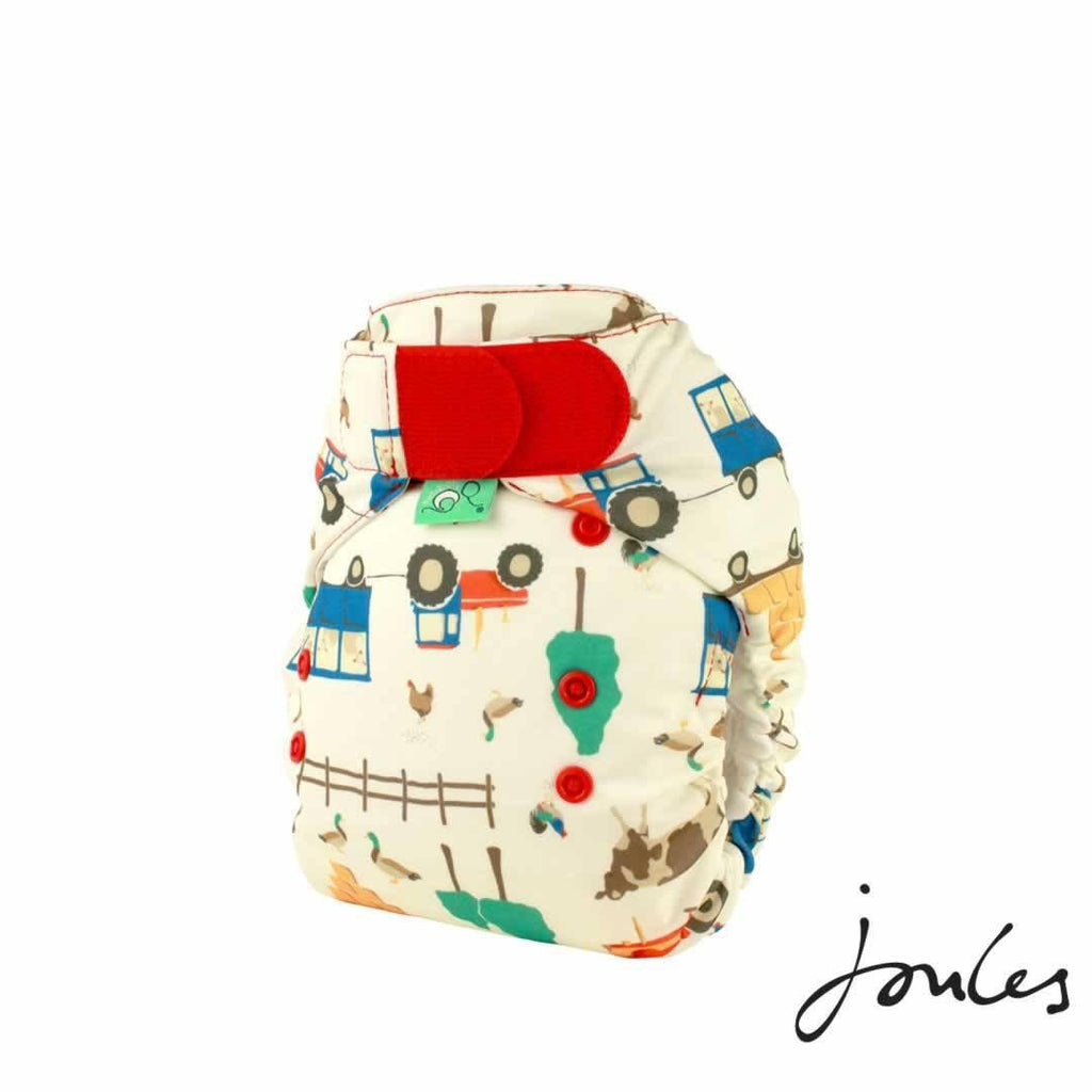 TotsBots Easyfit Star Nappy - Farmer Joules by Joules